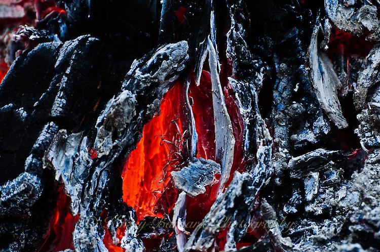 Hot Glowing Coals