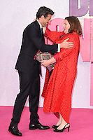 "Patrick Dempsey and Joanna Scanlan<br /> at the ""Bridget Jones's Baby"" World premiere, Odeon Leicester Square , London.<br /> <br /> <br /> ©Ash Knotek  D3149  05/09/2016"