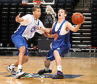 Ryan Arcidiancono at the NBPA Top100 camp June 18, 2010 at the John Paul Jones Arena in Charlottesville, VA. Visit www.nbpatop100.blogspot.com for more photos. (Photo © Andrew Shurtleff)