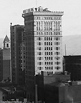 Pittsburgh PA:  View of the Arrott Building from the Empire Building - 1904.  Arrott Building was built in 1902 and is located at Wood Street and Fouth Avenue and still in operation today.  Keystone Bank Building in background