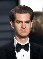 www.acepixs.com<br /> <br /> February 26 2017, LA<br /> <br /> Andrew Garfield arriving at the Vanity Fair Oscar Party at the Wallis Annenberg Center for the Performing Arts on February 26 2017 in Beverly Hills, Los Angeles<br /> <br /> By Line: Famous/ACE Pictures<br /> <br /> <br /> ACE Pictures Inc<br /> Tel: 6467670430<br /> Email: info@acepixs.com<br /> www.acepixs.com