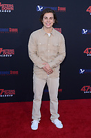 """LOS ANGELES - AUG 13:  Jake T. Austin at the """"47 Meters Down: Uncaged"""" Los Angeles Premiere at the Village Theater on August 13, 2019 in Westwood, CA"""