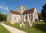 Abbey church at Amesbury, Wiltshire, England, UK