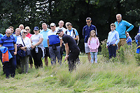 Scott Henry (SCO) in the rough at the 16th green during Sunday's Final Round of the Northern Ireland Open 2018 presented by Modest Golf held at Galgorm Castle Golf Club, Ballymena, Northern Ireland. 19th August 2018.<br /> Picture: Eoin Clarke | Golffile<br /> <br /> <br /> All photos usage must carry mandatory copyright credit (&copy; Golffile | Eoin Clarke)