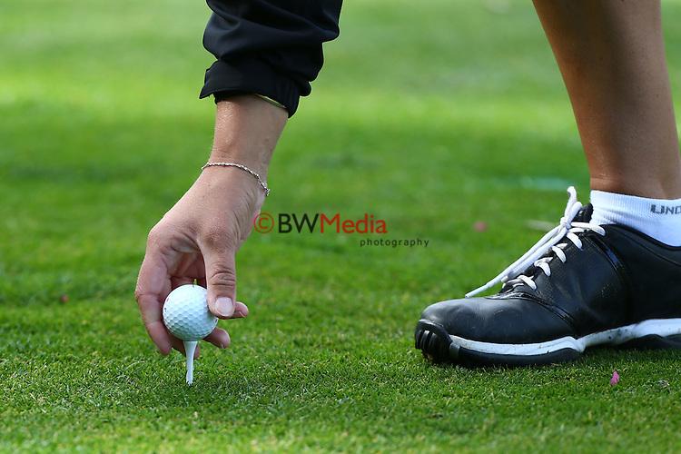 Espirito Santo Team Photoshoot, Royal Auckland Golf Course, Manukau, Auckland, Friday 8 August 2014. Photo: Simon Watts/www.bwmedia.co.nz <br /> All images &copy; NZ Golf and BWMedia.co.nz