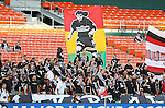 20 Octoboer 2007: DC United fans hold a giant Marco Etcheverry banner during the game. The 1997 DC United team defeated Hollywood United 2-1 in the Marco Etcheverry tribute match played before a regular season MLS game at RFK Stadium in Washington, DC.