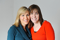 YARDLEY, PA - JANUARY 28:  The Pyle sisters photographed January 28, 2012 in Yardley, Pennsylvania. (Photo by William Thomas Cain/cainimages.com)