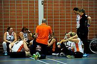 ASSEN - Volleybal, Internationaal zitvolleybal toernooi, Nederland - Rusland, 01-07-2017,  voorbereiding laatste aanwijzingen