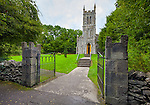 County Clare, Ireland:<br /> Ardcroney Chruch of Ireland, relocated to Bunratty Folk Park in 1998