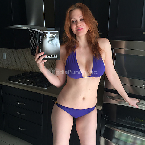 LOS ANGELES, CA - JUNE 18: Maitland Ward Overly Excited And Ready For Today's Release Of E.L. James' Grey at a Private Location in Los Angeles, California on June 18, 2015. Credit: David Edwards/MediaPunch