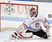 Chris Rawlings (NU - 37) - The Northeastern University Huskies defeated the Boston College Eagles 3-2 on Friday, February 19, 2010, at Matthews Arena in Boston, Massachusetts.