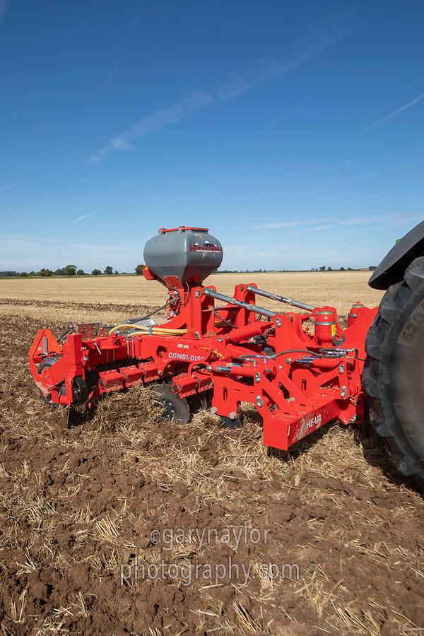 Drilling OSR - Lincolnshire, September