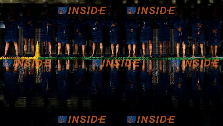 Kally Milano Formazione <br /> Roma 05/01/2019 Centro Federale  <br /> Final Six Pallanuoto Donne Coppa Italia <br /> RN Florentia - Kally NC Milano Finale 5-6 posto<br /> Foto Andrea Staccioli/Deepbluemedia/Insidefoto