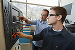 1203-48 268<br /> <br /> 1203-48 MET Labs<br /> <br /> Manufacturing Engineering Technology Lab, Fulton College of Engineering<br /> <br /> March 28, 2012<br /> <br /> Photo by Jaren Wilkey/BYU<br /> <br /> &copy; BYU PHOTO 2012<br /> All Rights Reserved<br /> photo@byu.edu  (801)422-7322