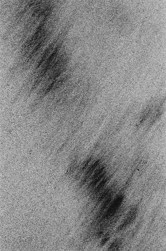 Abstract Sand Ilford Delta Film