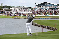 Rory McIlroy (NIR) plays to the last during Round Two of the 100th Open de France, played at Le Golf National, Guyancourt, Paris, France. 01/07/2016. Picture: David Lloyd | Golffile.<br /> <br /> All photos usage must carry mandatory copyright credit (&copy; Golffile | David Lloyd)