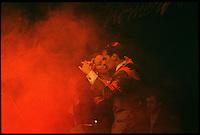Tango-Show der Gruppe &quot;Tiempo Nuevo&quot; im exclusiven Restaurant Esquina Homero Manzi.<br /> Tango show with the group &quot;Tiempo Nuevo&quot; at the exclusive restaurant Esquina Homero Manzi.<br /> 22.10.2000, Buenos Aires<br /> Copyright: Christian-Ditsch.de<br /> [Inhaltsveraendernde Manipulation des Fotos nur nach ausdruecklicher Genehmigung des Fotografen. Vereinbarungen ueber Abtretung von Persoenlichkeitsrechten/Model Release der abgebildeten Person/Personen liegen nicht vor. NO MODEL RELEASE! Nur fuer Redaktionelle Zwecke. Don't publish without copyright Christian-Ditsch.de, Veroeffentlichung nur mit Fotografennennung, sowie gegen Honorar, MwSt. und Beleg. Konto: I N G - D i B a, IBAN DE58500105175400192269, BIC INGDDEFFXXX, Kontakt: post@christian-ditsch.de<br /> Urhebervermerk wird gemaess Paragraph 13 UHG verlangt.]