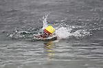 "Myles McCourt at the Clogherhead ""Round the Head Swim""...(Photo credit should read Jenny Matthews/NEWSFILE)..."