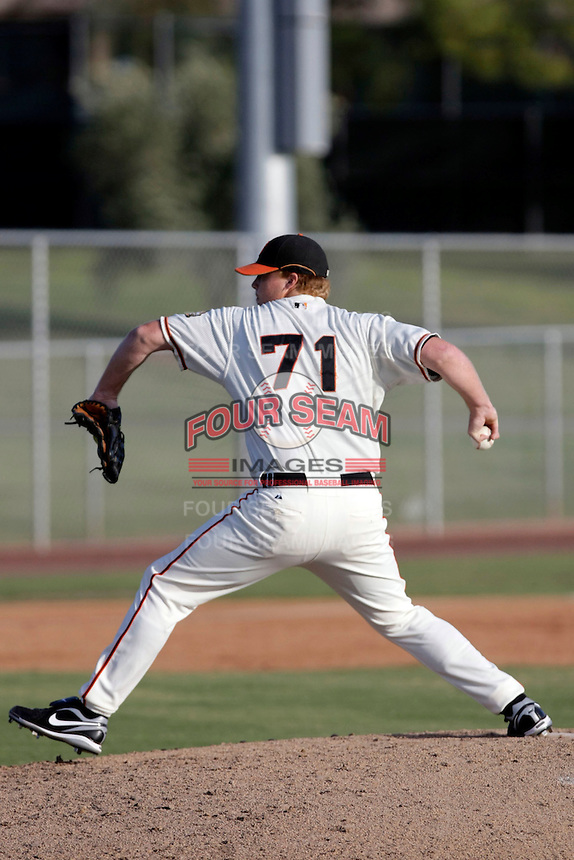 Jason Stoffel - AZL Giants (2009 Arizona League) .Photo by:  Bill Mitchell/Four Seam Images..