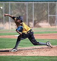 Marco Raya of Team Warstic plays in the 2019 Perfect Game 17U World Series on July 25, 2019 at Salt River Fields in Scottsdale, Arizona (Bill Mitchell)