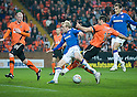 :: DUNDEE UTD'S MIHAEL KOVACEVIC GETS A STRAIGHT RED AFTER PULLING DOWN RANGERS' STEVEN NAISMITH FOR RANGERS' PENALTY :: .19/04/2011   Copyright  Pic : James Stewart.sct_jsp002_dundee_utd_v_rangers .James Stewart Photography 19 Carronlea Drive, Falkirk. FK2 8DN      Vat Reg No. 607 6932 25.Telephone      : +44 (0)1324 570291 .Mobile              : +44 (0)7721 416997.E-mail  :  jim@jspa.co.uk.If you require further information then contact Jim Stewart on any of the numbers above.........