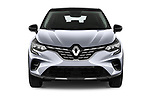 Car photography straight front view of a 2020 Renault Captur Initiale Paris 5 Door SUV