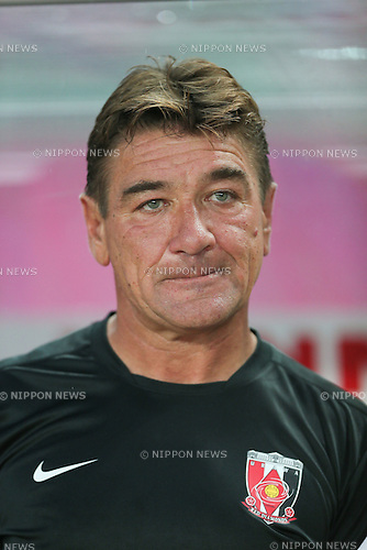 Mihailo Petrovic head coach (Reds), .JUNE 30, 2012 - Football / Soccer : .2012 J.LEAGUE Division 1, .16th sec match between Cerezo Osaka 1-1 Urawa Red Diamonds .at Nagai Stadium in Osaka, Japan. .(Photo by Akihiro Sugimoto/AFLO SPORT)