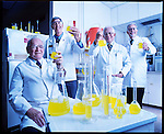 GATORADE DEVELOPERS IN A RESEARCH LAB AT THE UNIVERSITY OF FLORIDA