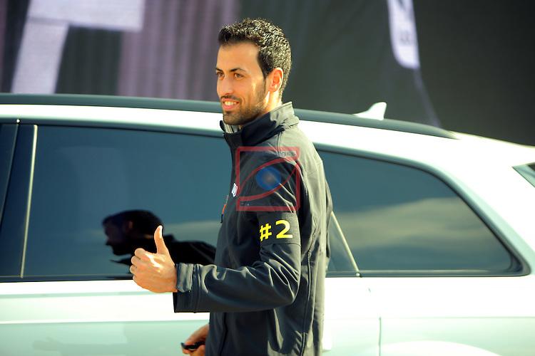 AUDI Premium Partner del FC Barcelona.<br /> Sergio Busquets.