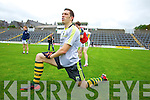 David Moran Kerry Senior footballers at their press day at Fitzgerald Stadium on Saturday.