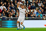 Eden Hazard of Real Madrid during La Liga match between Real Madrid and CD Leganes at Santiago Bernabeu Stadium in Madrid, Spain. October 30, 2019. (ALTERPHOTOS/A. Perez Meca)