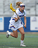 Drew Shapiro #5 of Hofstra University gets ready to shoot on goal during a CAA women's lacrosse game against Towson at Shuart Stadium in Hempstead, NY on Sunday, April 16, 2017. Hofstra won by a score of 17-15.