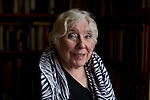 May0068661.  Daily Telegraph<br /> <br /> Features<br /> <br /> Author, Playwright and Feminist Fay Weldon photographed at home in Dorset .<br /> <br /> Andover 8 March 2016