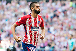 Yannick Ferreira Carrasco of Atletico de Madrid celebrates during the La Liga 2017-18 match between Atletico de Madrid and Sevilla FC at the Wanda Metropolitano on 23 September 2017 in Madrid, Spain. Photo by Diego Gonzalez / Power Sport Images