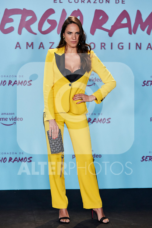 "Laia Alemany attends to ""El Corazon De Sergio Ramos"" premiere at Reina Sofia Museum in Madrid, Spain. September 10, 2019. (ALTERPHOTOS/A. Perez Meca)"