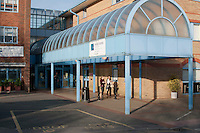 Entrance, Sussex Downs Further Education College, Lewis, Sussex.