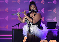 BEVERLY HILLS, CA - MARCH 28:  Lizzo at the 30th Annual GLAAD Media Awards at the Beverly Hilton on March 28, 2019 in Beverly Hills, California. (Photo by Frank Micelotta/PictureGroup)