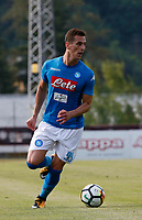 Arkadiusz Milik  of Napoli  during a preseason friendly soccer match against Aunania in Dimaro's Stadium   12 July 2017  .it