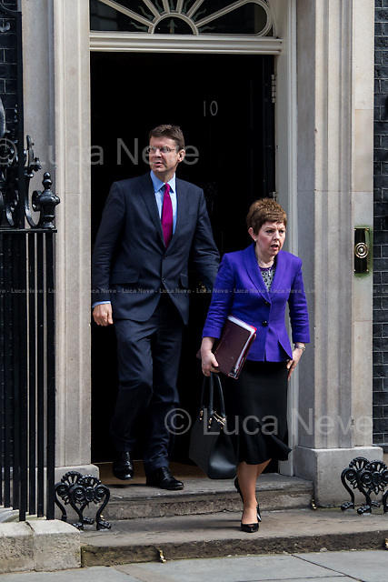(From R to L) Baroness Stowell of Beeston MBE (Leader of the House of Lords, Lord Privy Seal) &amp; Greg Clark MP (Minister of State for Universities, Science and Cities).<br />