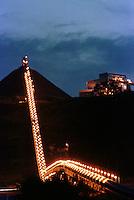 Esteira de rolagem. Cia. Vale do Rio Doce, Serra do Sossego<br />Canãa dos Carajás-Pará-Brasil<br />Foto: Paulo Santos/ Interfoto<br />Negativo 135