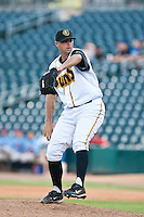 Jeff Allison of the  Jacksonville Suns during a game vs. the Tennessee Smokies July 10 2010 at Baseball Grounds of Jacksonville in Jacksonville, Florida. Photo By Scott Jontes/Four Seam Images