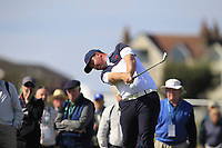 Thomas Sloman (GB&I) on the 2nd tee during Day 2 Singles at the Walker Cup, Royal Liverpool Golf CLub, Hoylake, Cheshire, England. 08/09/2019.<br /> Picture Thos Caffrey / Golffile.ie<br /> <br /> All photo usage must carry mandatory copyright credit (© Golffile | Thos Caffrey)