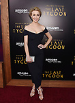 HOLLYWOOD, CA - JULY 27:  Actress Dominique McElligott arrives at the Premiere Of Amazon Studios' 'The Last Tycoon' at the Harmony Gold Preview House and Theater on July 27, 2017 in Hollywood, California.