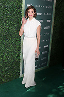 LOS ANGELES - FEB 20:  Alison Brie at the CFDA Variety and WWD Runway to Red Carpet at Chateau Marmont Hotel on February 20, 2018 in West Hollywood, CA