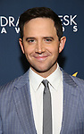 Santino Fontana during the 2019 Drama Desk Awards at Steinway Hall on June 2, 2019  in New York City.