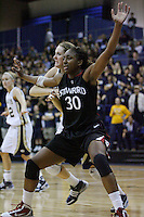 DAVIS, CA - NOVEMBER 22:  Nnemkadi Ogwumike during Stanford's 76-51 win over UC Davis on November 22, 2009 in Davis, California.