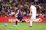 UEFA Champions League 2018/2019 - Matchday 1.<br /> FC Barcelona vs PSV Eindhoven: 4-0.<br /> Lionel Messi vs Daniel Schwaab.