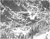Butterfly Trestle is in foreground and Butterfly Mine complex is in rear.<br /> RGS  Butterfly, CO  Taken by Beam, George L.