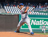 New York Mets relief pitcher Jeurys Familia (27) works in the sixth inning against the Washington Nationals at Nationals Park in Washington, D.C. on Wednesday, September 4, 2019.  The Mets won the game 8 - 4.<br /> Credit: Ron Sachs / CNP<br /> (RESTRICTION: NO New York or New Jersey Newspapers or newspapers within a 75 mile radius of New York City)