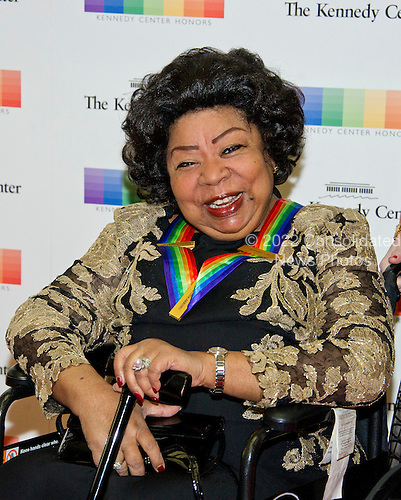 2013 Kennedy Center Honor recipient Martina Arroyo arrives for the formal Artist's Dinner honoring the recipients of the 39th Annual Kennedy Center Honors hosted by United States Secretary of State John F. Kerry at the U.S. Department of State in Washington, D.C. on Saturday, December 3, 2016. The 2016 honorees are: Argentine pianist Martha Argerich; rock band the Eagles; screen and stage actor Al Pacino; gospel and blues singer Mavis Staples; and musician James Taylor.<br /> Credit: Ron Sachs / Pool via CNP